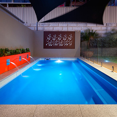 The Empire – 6m x 3m fibreglass swimming pool