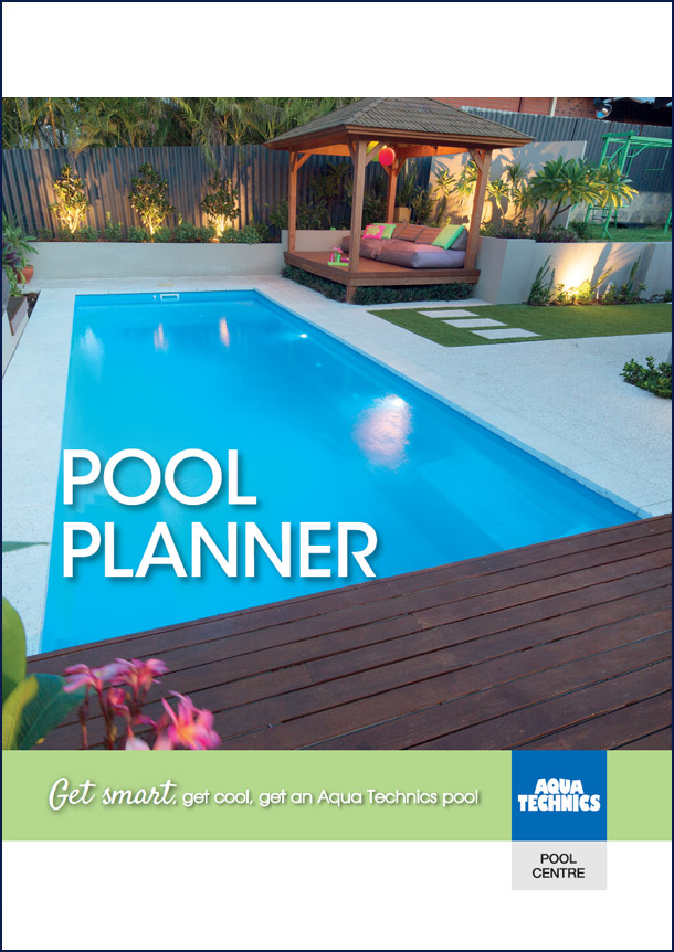 Use our Pool Planner to generate ideas for your swimming pool construction